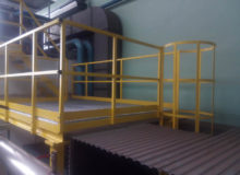 produkcja podestu stalowego