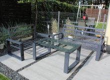 metalowe meble ogrodowe