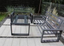 stalowe meble ogrodowe