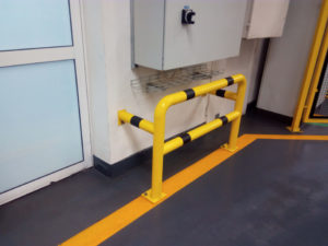 stalowa barierka ochronna