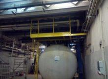 podest roboczy, produkcja stalowych konstrukcji