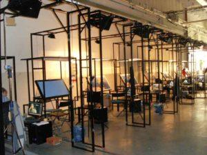 stanowisko do animacji filmowej, nietypowe konstrukcje stalowe Gdańsk
