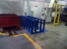 stojak dokręgów zblachy, producent konstrukcji stalowych Gdańsk