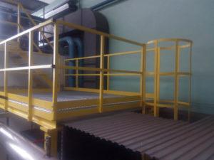 produkcja podestu stalowego Gdańsk
